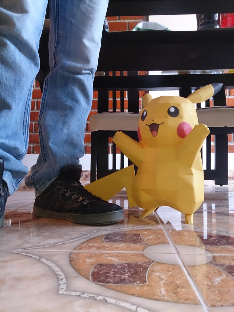 Pikachu Real life size by xDCosmo