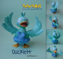 Ducklett Papercraft