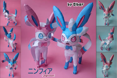 Sylveon Papercraft