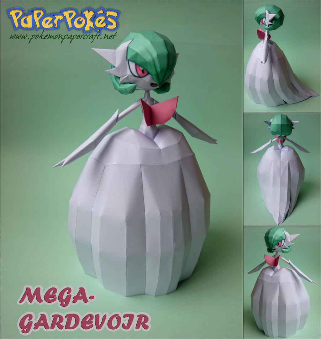 M-GARDEVOIR Papercraft by Olber-Correa on DeviantArt - photo#29