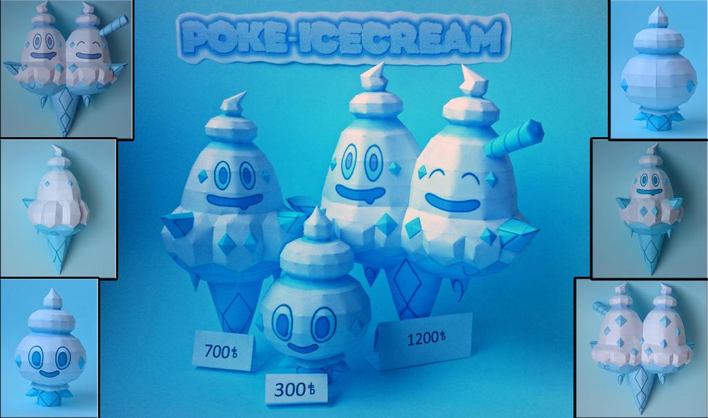 Icecream Pokemon by xDCosmo