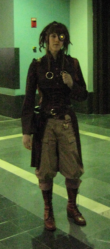 Steampunk Costume2