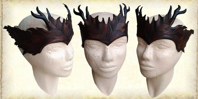 Leather crown 41 by Eternal-designs-com