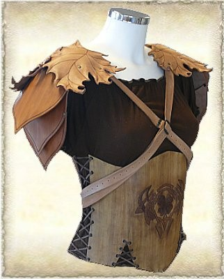 Shoulder guard  Model 07-1 by Eternal-designs-com