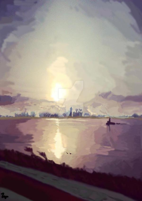 Land scape :) by Jenn-Stardust