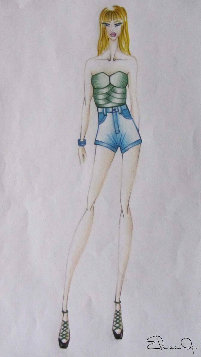 Fashion #15 by ElyGraphic
