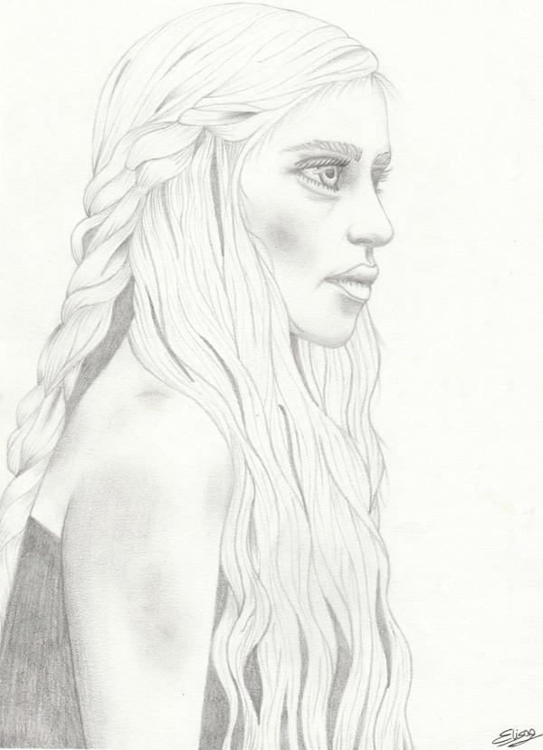 Daenerys Targaryen by ElyGraphic
