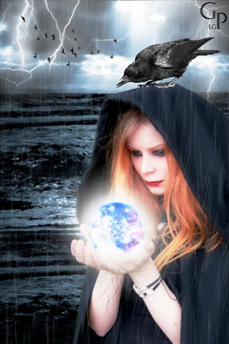 Dark Sorceress by ElyGraphic