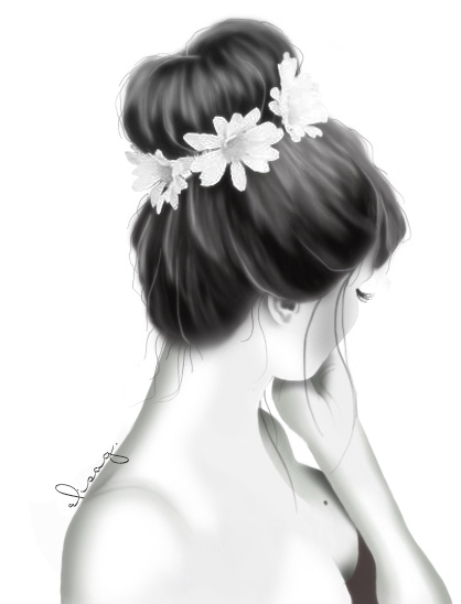 Flower Girl by ElyGraphic