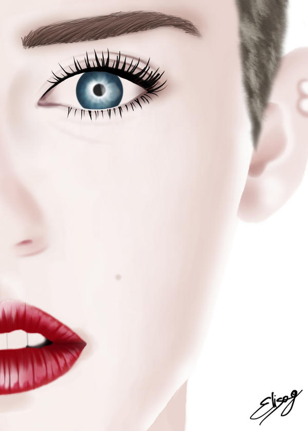 Miley Cyrus by ElyGraphic