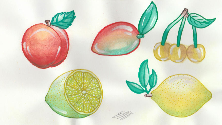 Fruits by ElyGraphic