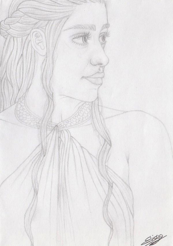 Khaleesi by ElyGraphic