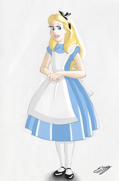 Disney Princess - Alice by ElyGraphic