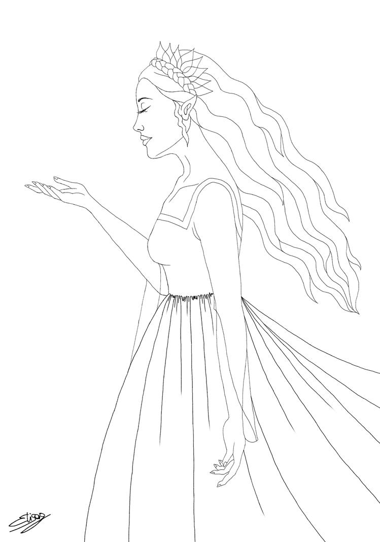 Magic (Line Art) by ElyGraphic