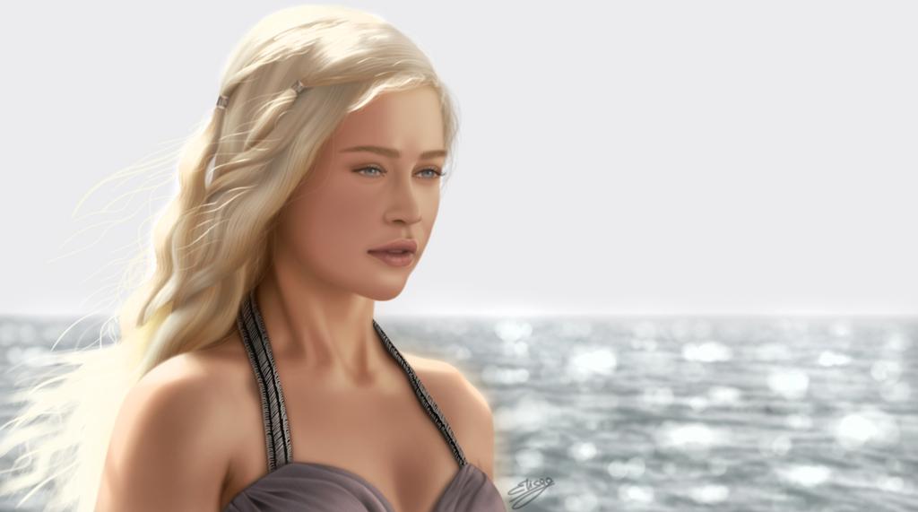 Daenerys Wedding by ElyGraphic