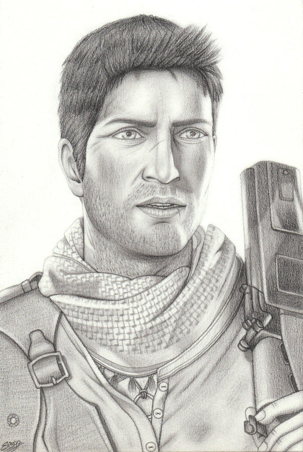 Uncharted - Nathan Drake by ElyGraphic