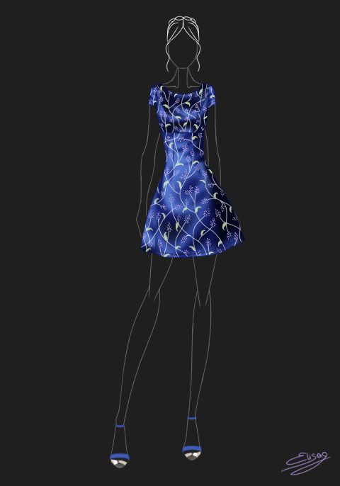 Chi Chi Jasmine Dress by ElyGraphic