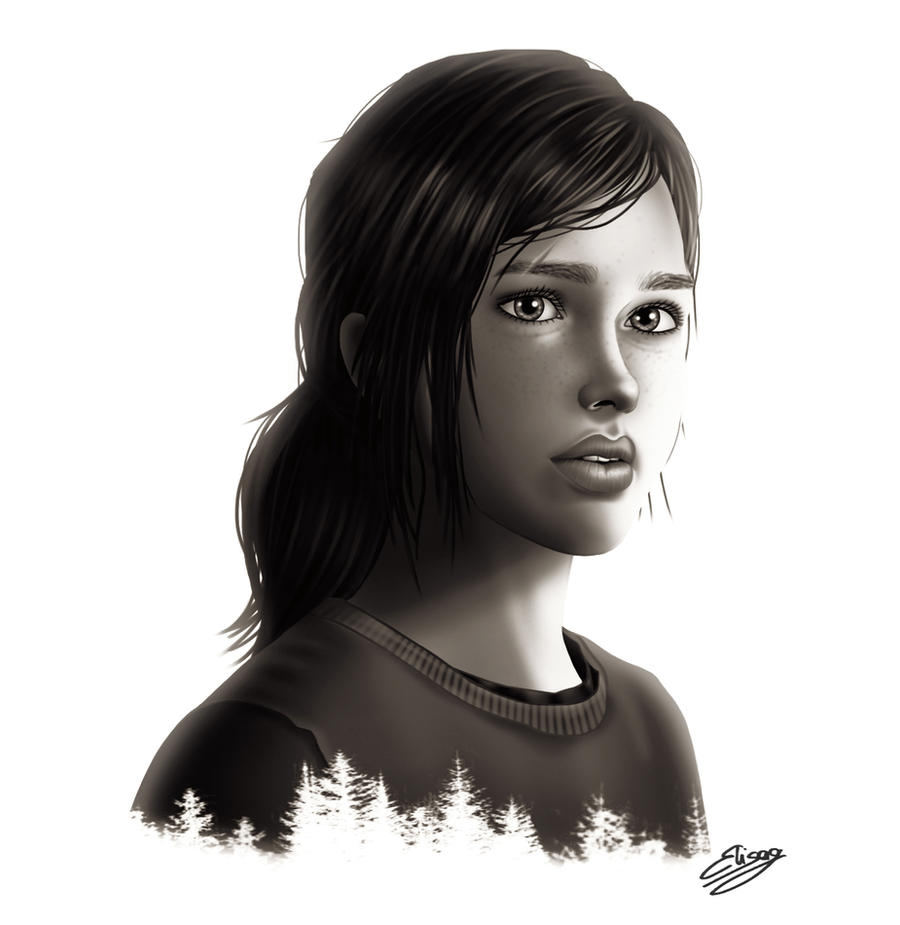 The Last Of Us - Ellie by ElyGraphic