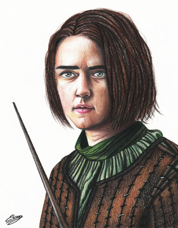 Game Of Thrones - Arya Stark by ElyGraphic