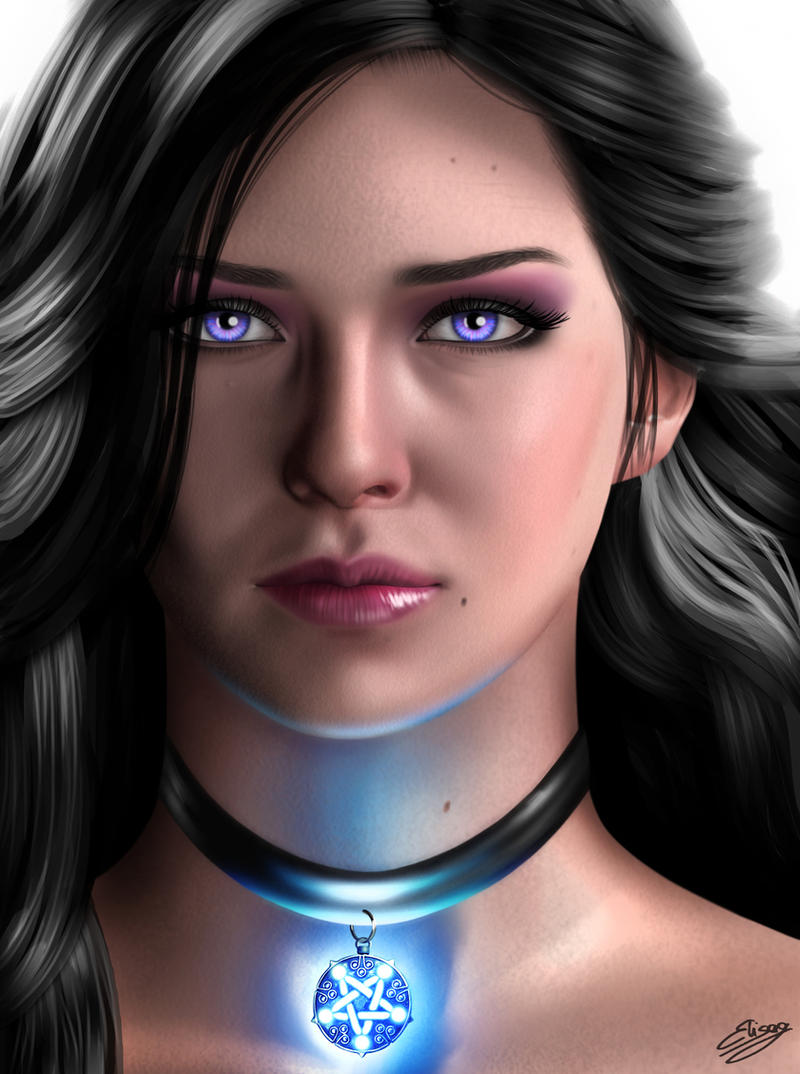 The Witcher 3: Wild Hunt - Yennefer by ElyGraphic