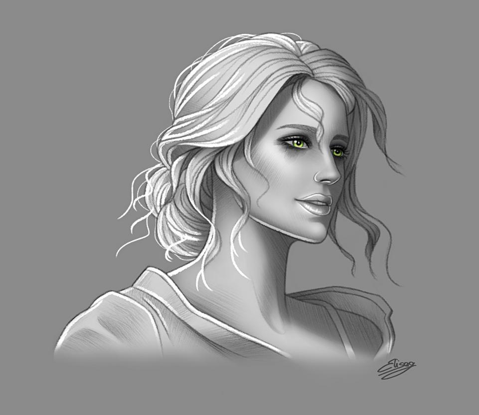 The Witcher 3 - Cirilla Fiona Elen Riannon by ElyGraphic