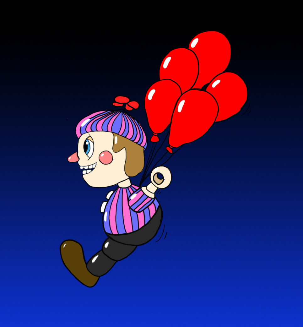 Balloon Boy's Balloon Fight By Wholetthemonstersout On