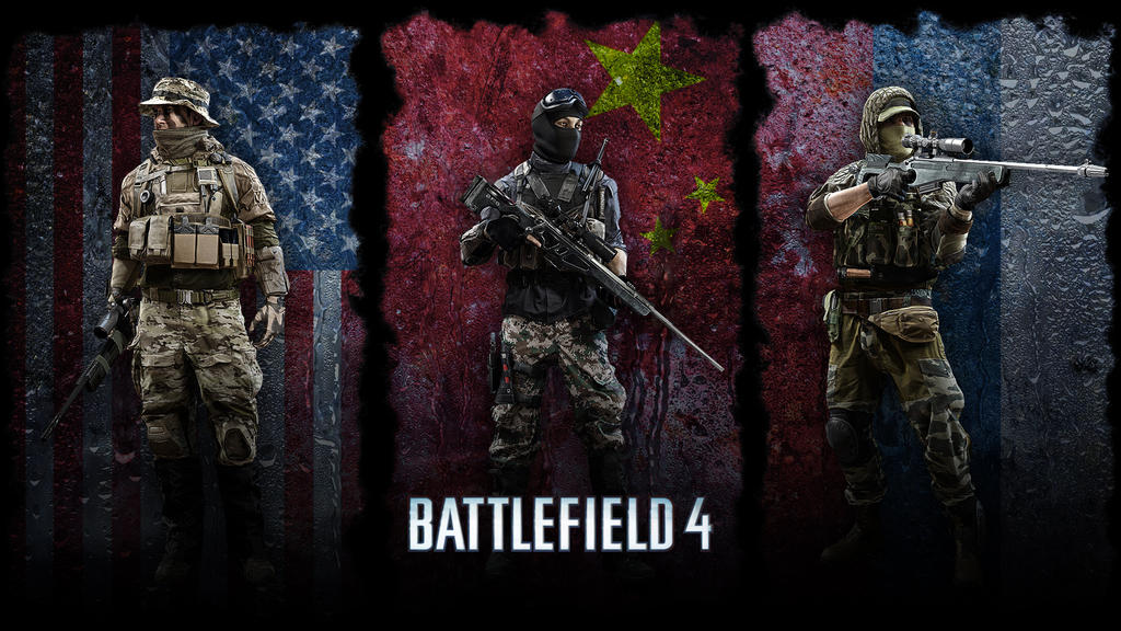BF4 Sniper Class Wallpaper by ChaoticChild555