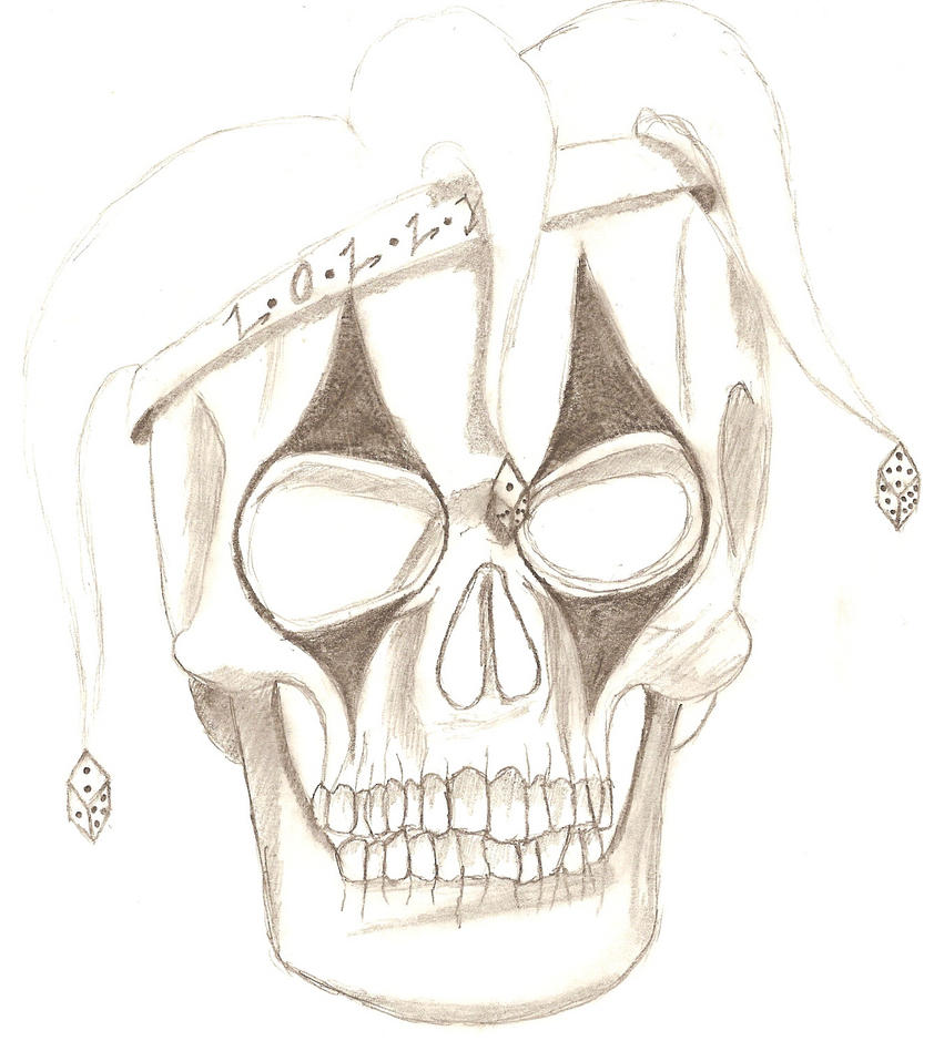 Lolly Skull Tattoo by ChaoticChild555