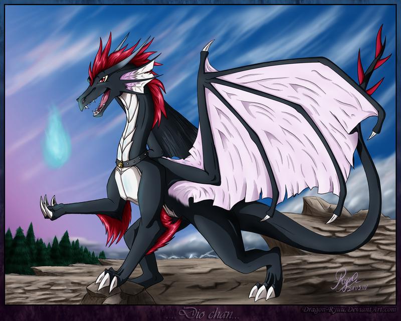 The Dragon Called Dio by dragon-ryuu