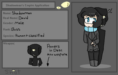 Shadowman Application
