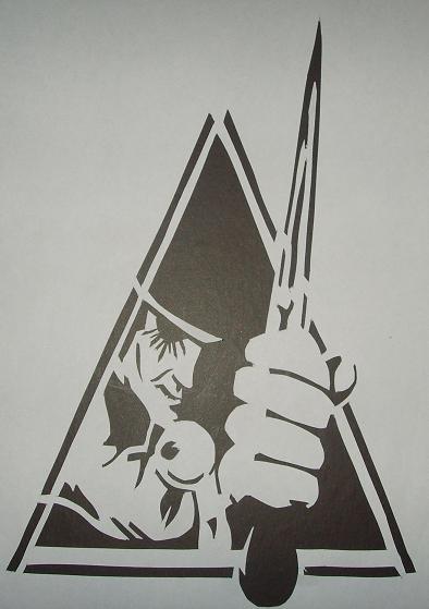 Alex De Large Stencil By Cursedfrombirth On Deviantart