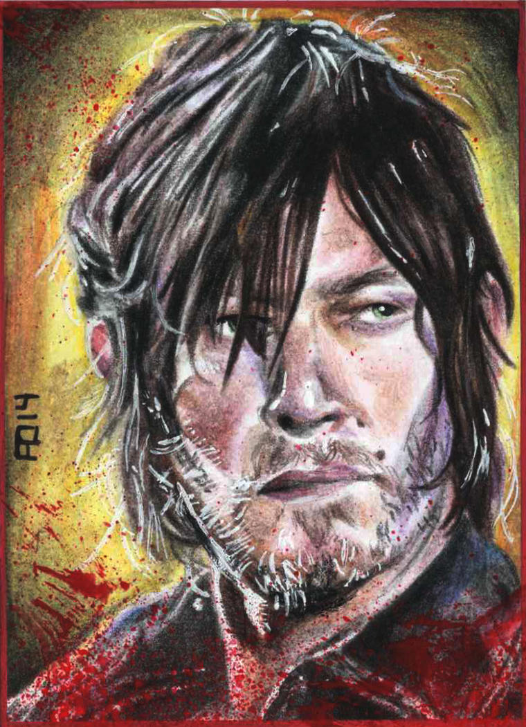 Daryl Dixon by adshardcore