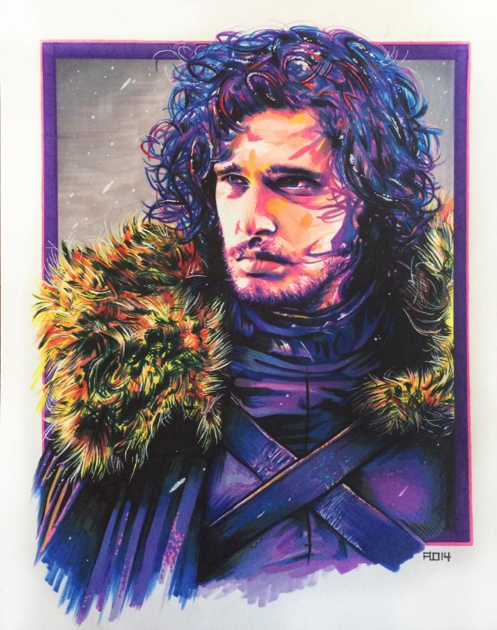 Jon Snow by adshardcore