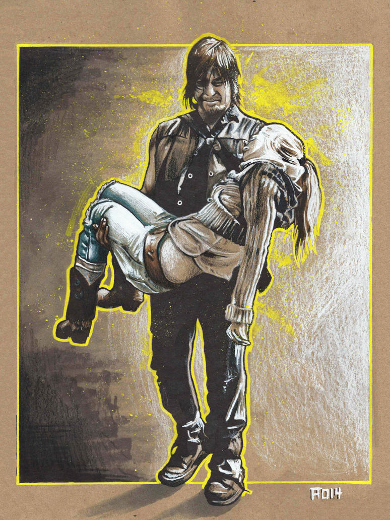 Daryl and Beth by adshardcore