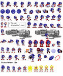 More updated Sonic sprites *Cover coming soon*