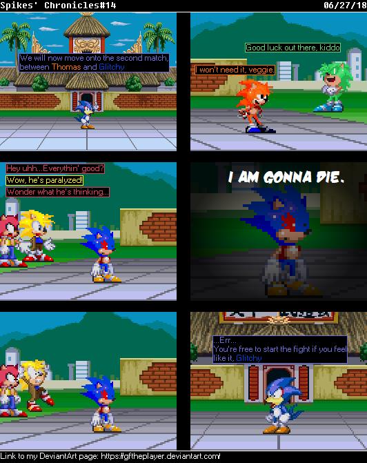 Spikes' Chronicles#14: Heh, veggie by GFTheplayer