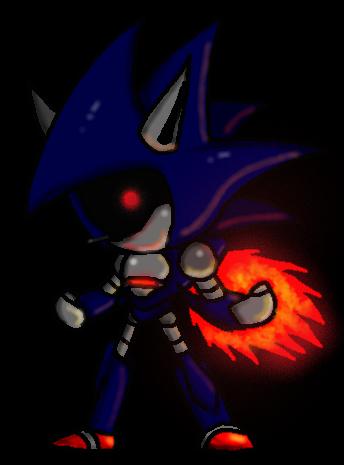 Mecha Sonic Zeta by GFTheplayer