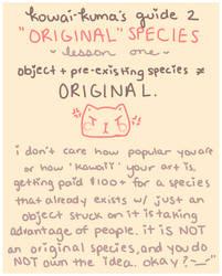 ''original'' species by fairypaws