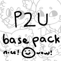 P2U base pack!! lots of cute stuff by fairypaws