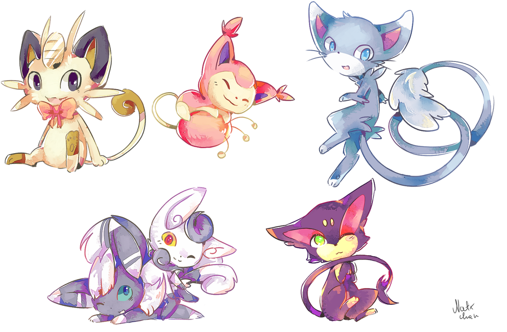 pokecats by Natx-chan
