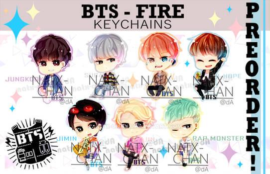 [KEYCHAINS] BTS - Fire