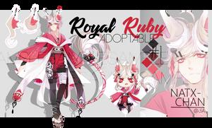 [CLOSED] Royal Ruby ADOPTABLE by Natx-chan