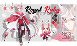 [CLOSED] Royal Ruby ADOPTABLE