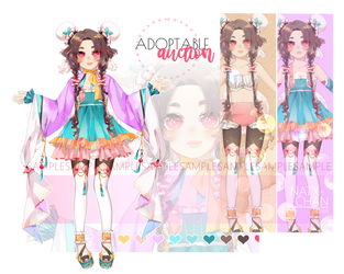 [CLOSED] pastel ADOPTABLE by Natx-chan