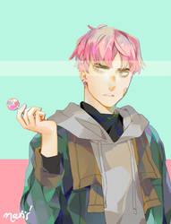 [OC] 3rd redraw by Natx-chan