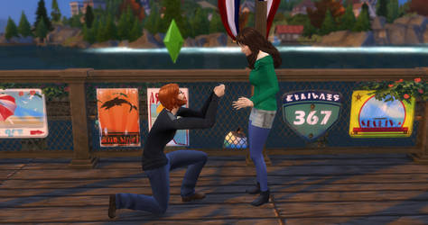 GJ proposing to Stef