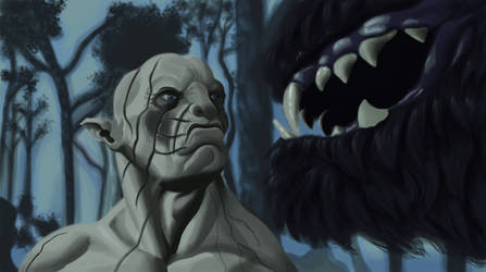 Hobbit: DoS Azog study by snicholes0000