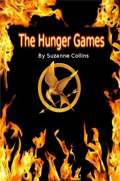 Hunger Games book cover: Front by ivykit626 on deviantART