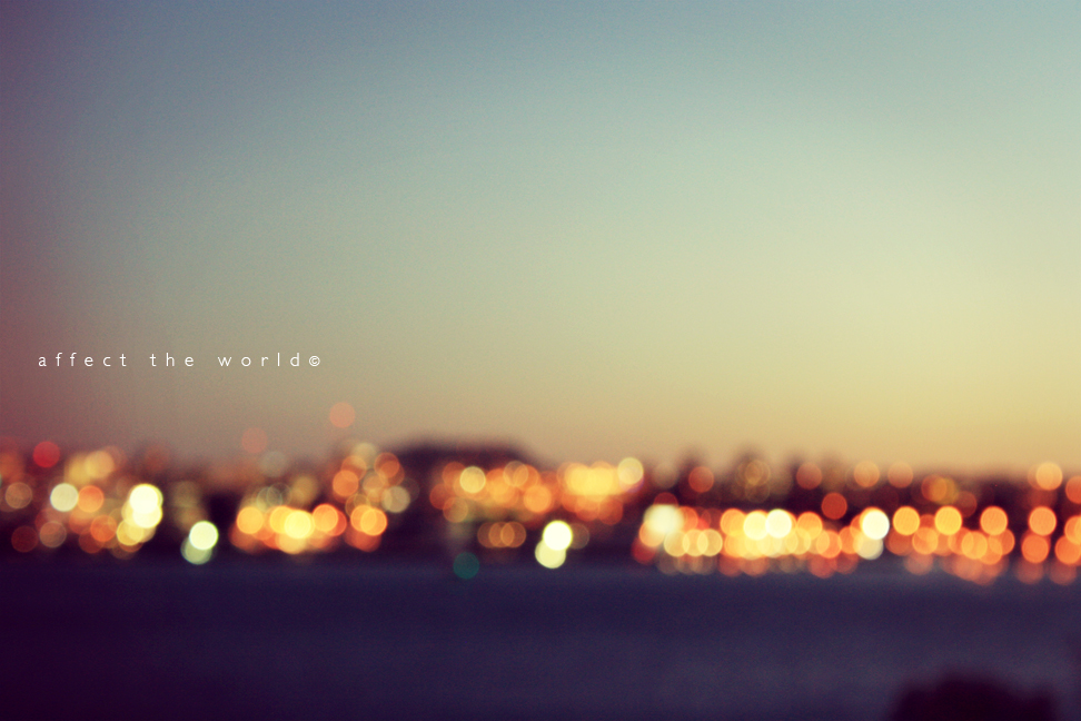 the city bokeh by Affect-The-World