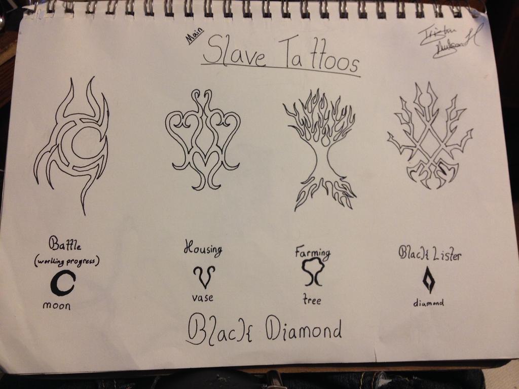 Slave tattoos by Defgon on DeviantArt